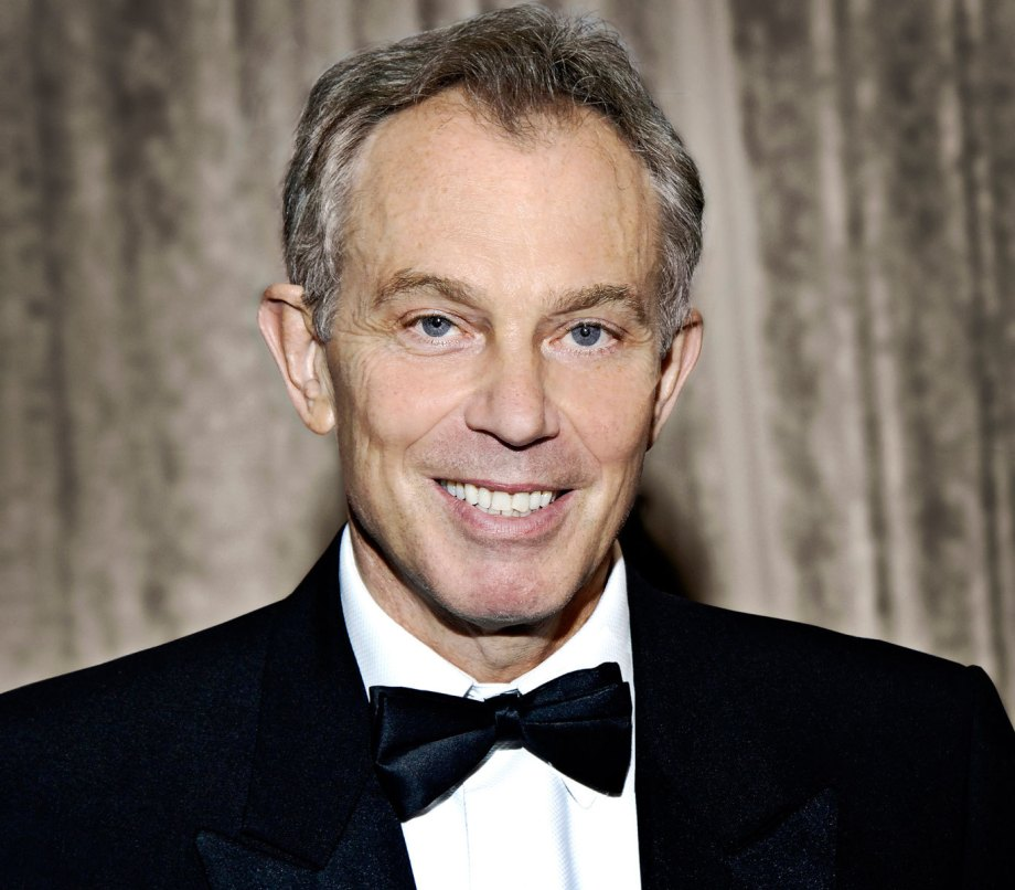 British Prime Minister Tony Blair